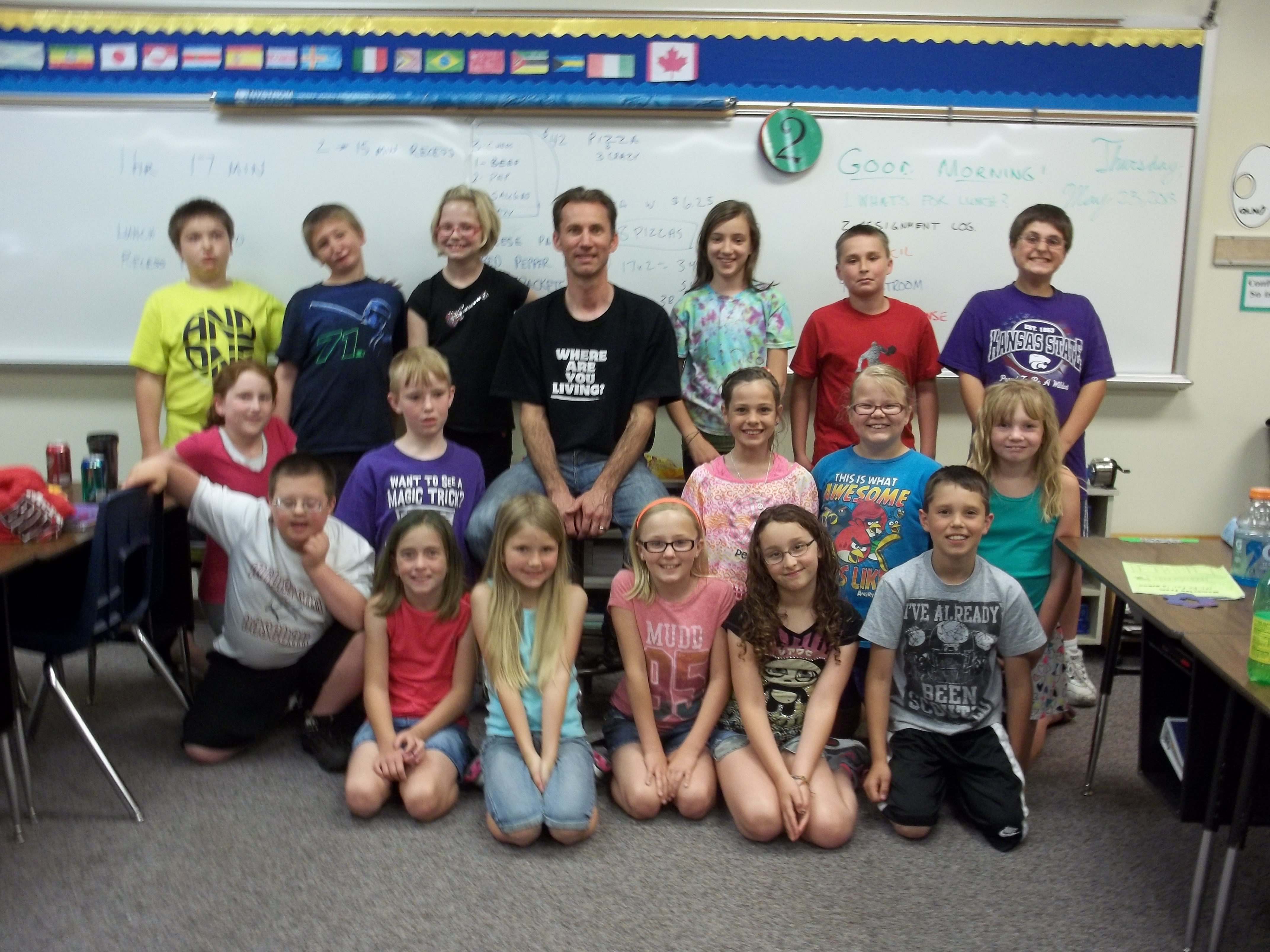 Fourth Grade Class Lincoln4th Licensed For Non Commercial
